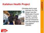 kailahun health project3