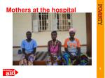 mothers at the hospital