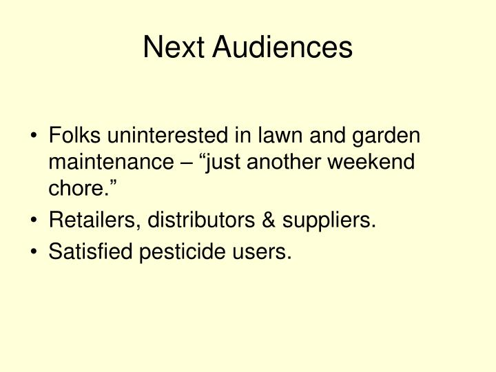 Next Audiences
