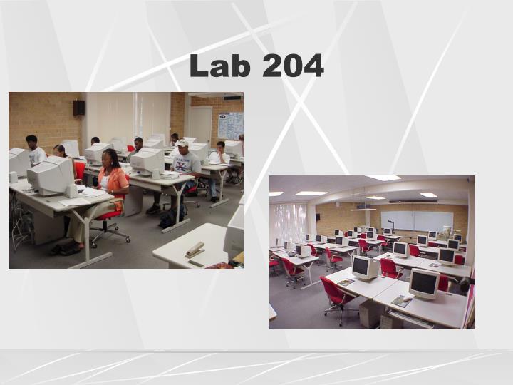 Lab 204