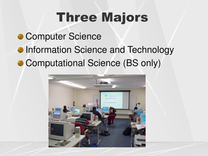 Three Majors
