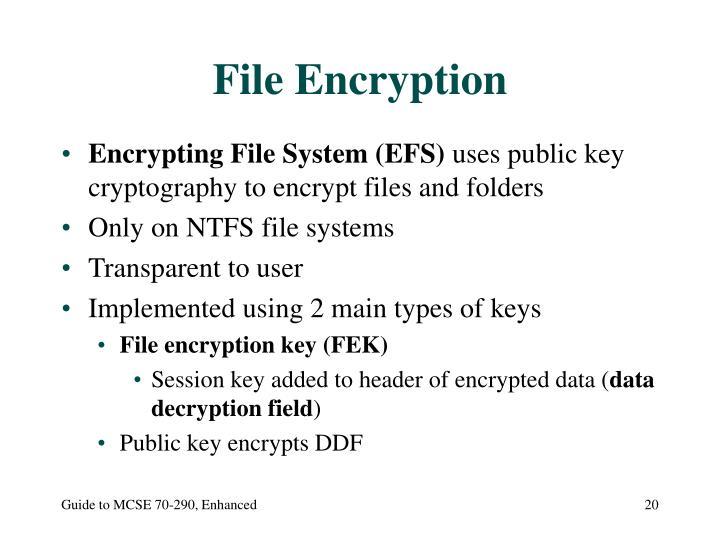 File Encryption