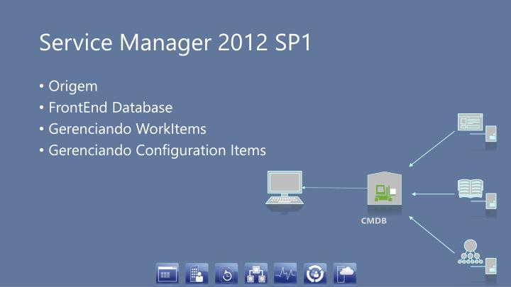 Service Manager 2012 SP1