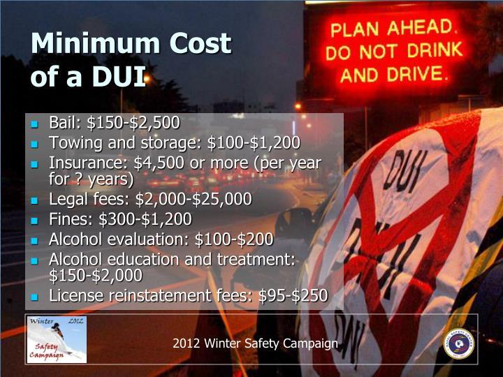 Minimum Cost
