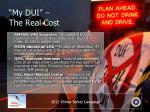 my dui the real cost