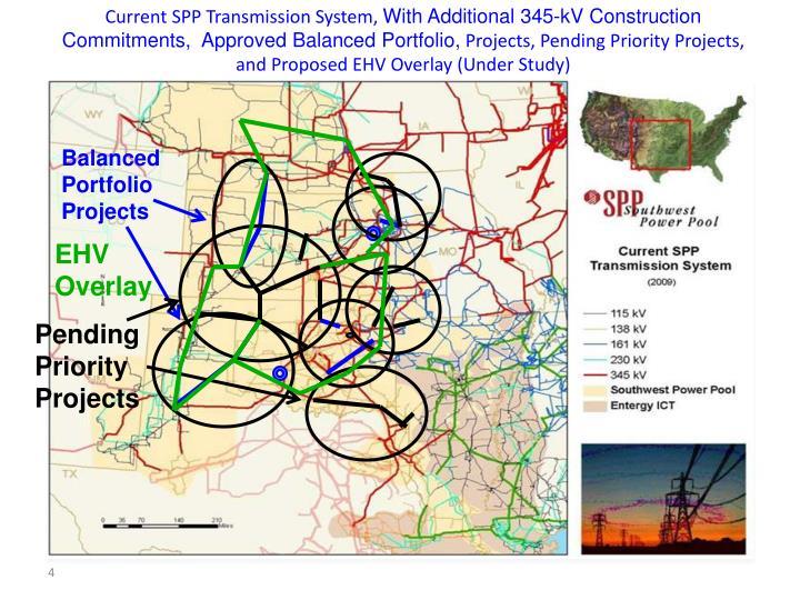 Current SPP Transmission System,