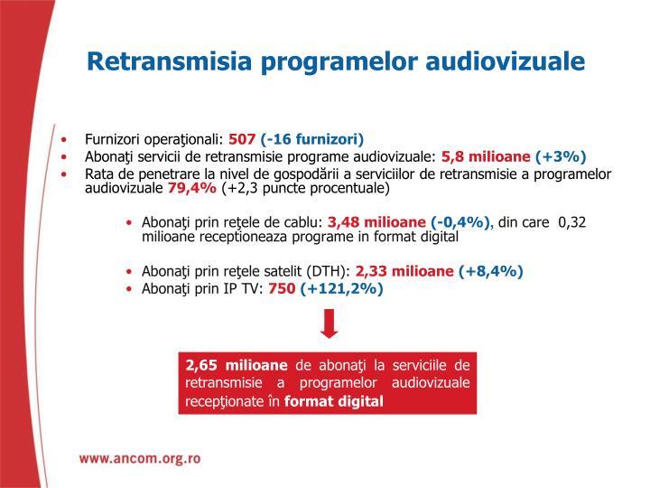 Retransmisia programelor audiovizuale