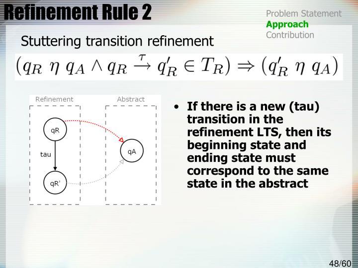 Refinement Rule 2