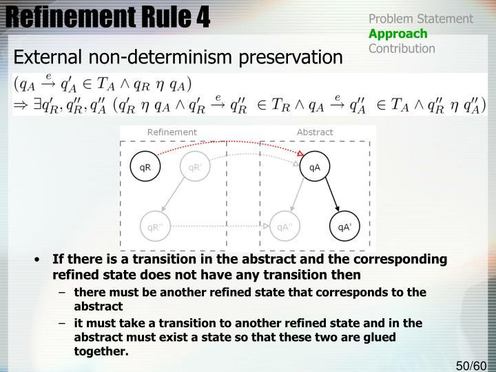 Refinement Rule 4