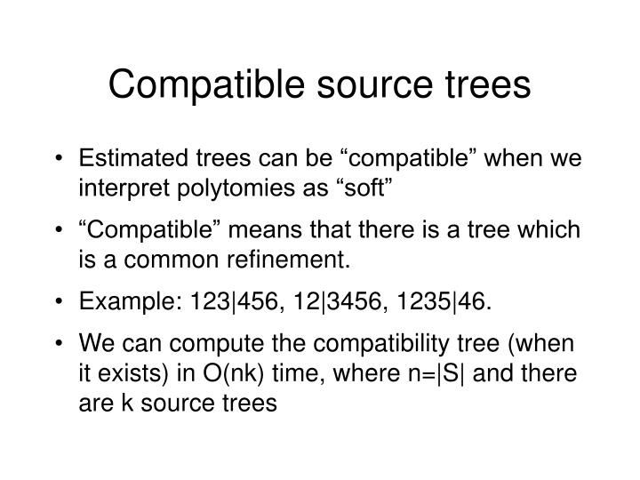 Compatible source trees