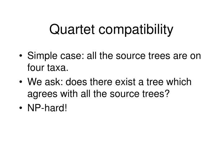 Quartet compatibility