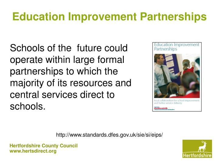 Education Improvement Partnerships