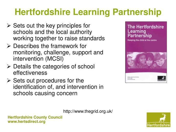 Hertfordshire Learning Partnership