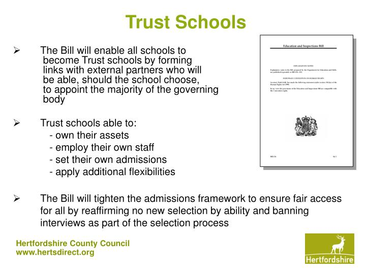 Trust Schools