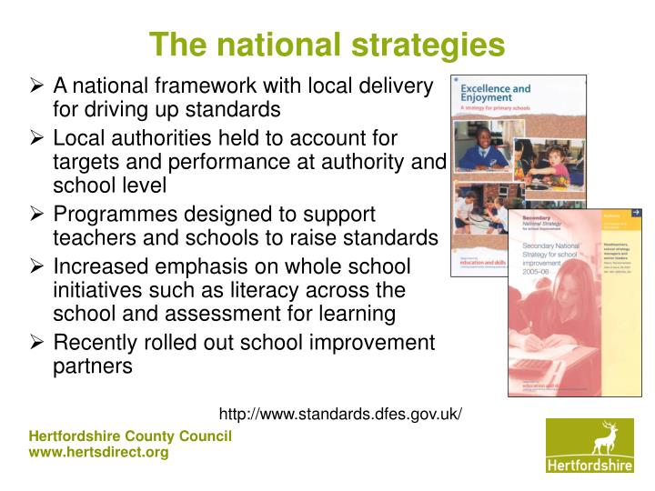 The national strategies
