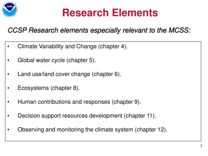 Research Elements