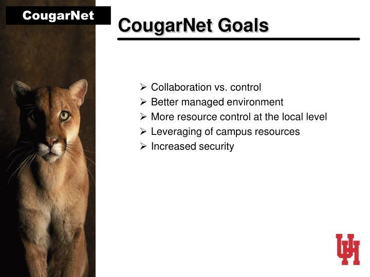 CougarNet Goals
