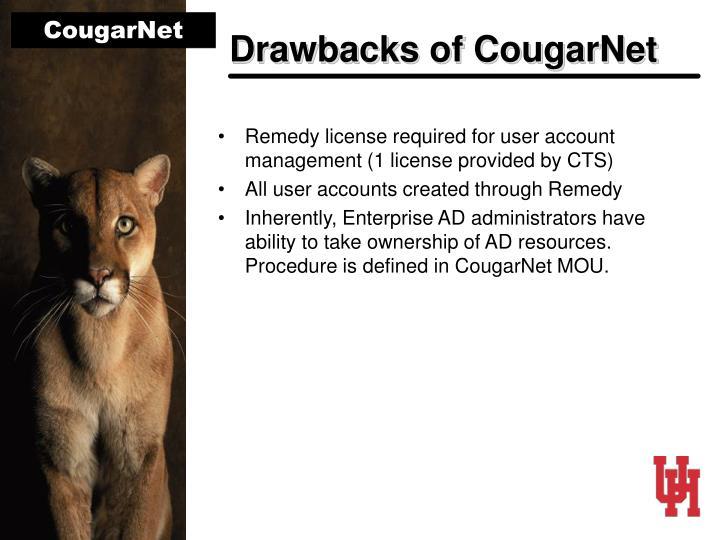Drawbacks of CougarNet