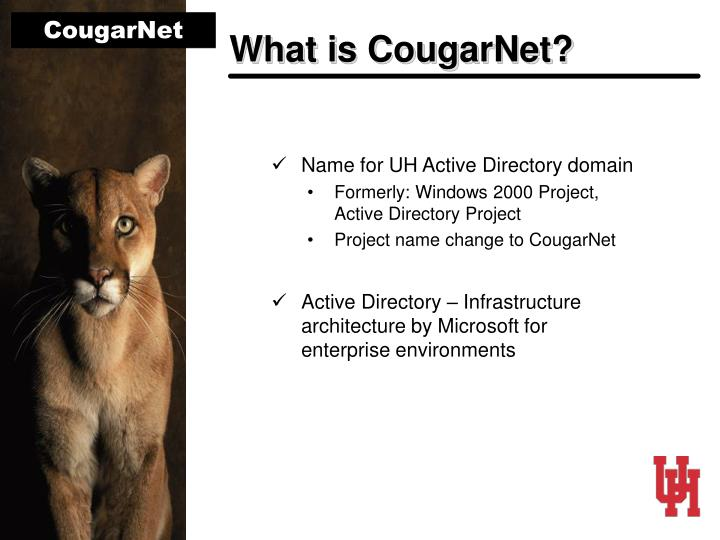 What is CougarNet?