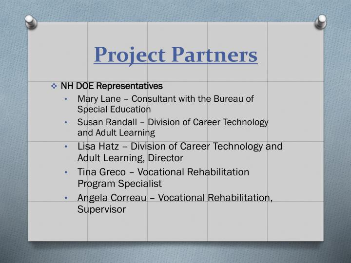 Project Partners