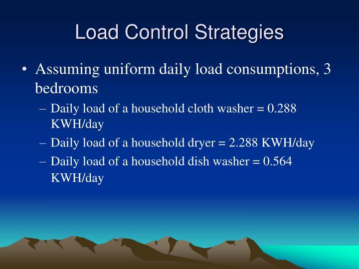 Load Control Strategies