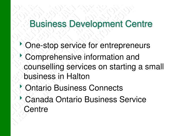 Business Development Centre