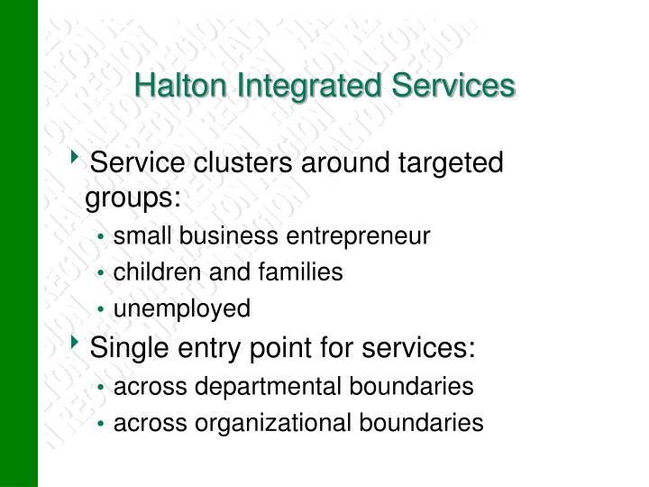Halton Integrated Services