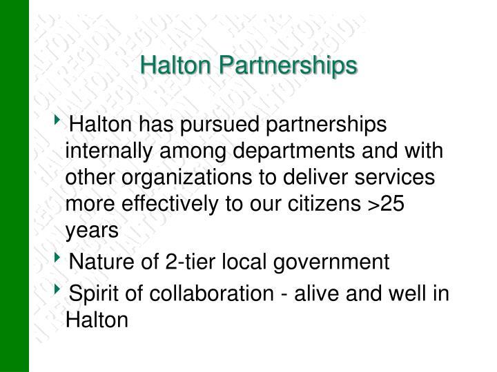 Halton Partnerships