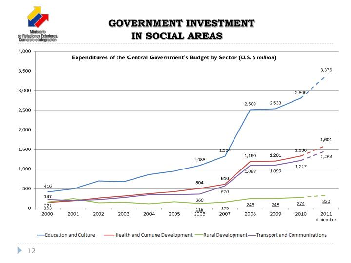 GOVERNMENT INVESTMENT