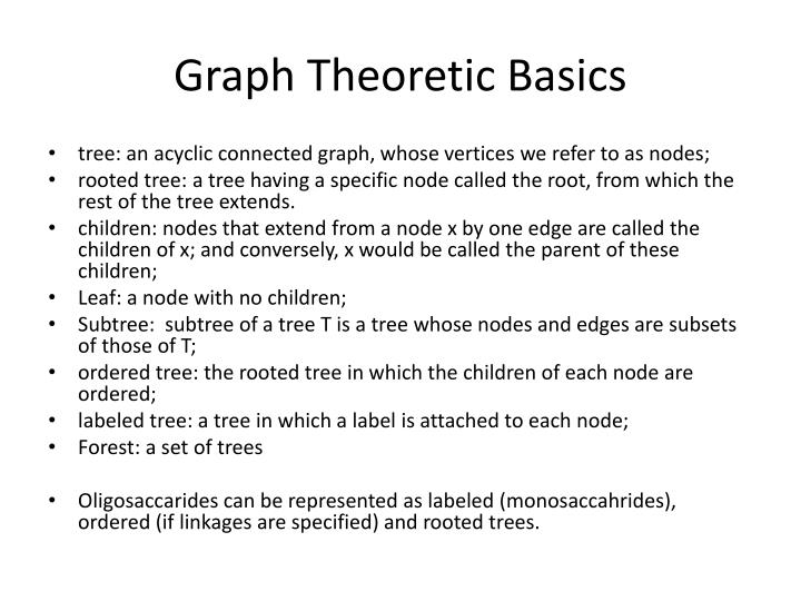 Graph Theoretic Basics