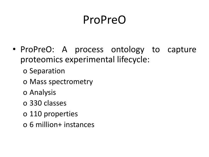 ProPreO