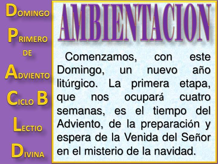 AMBIENTACION