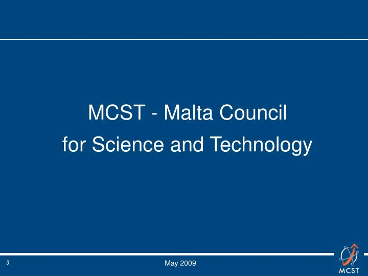 MCST - Malta Council