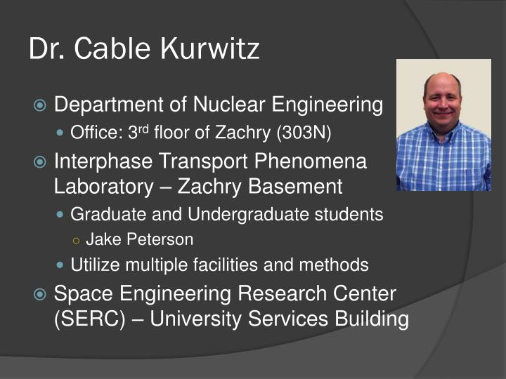 Dr cable kurwitz