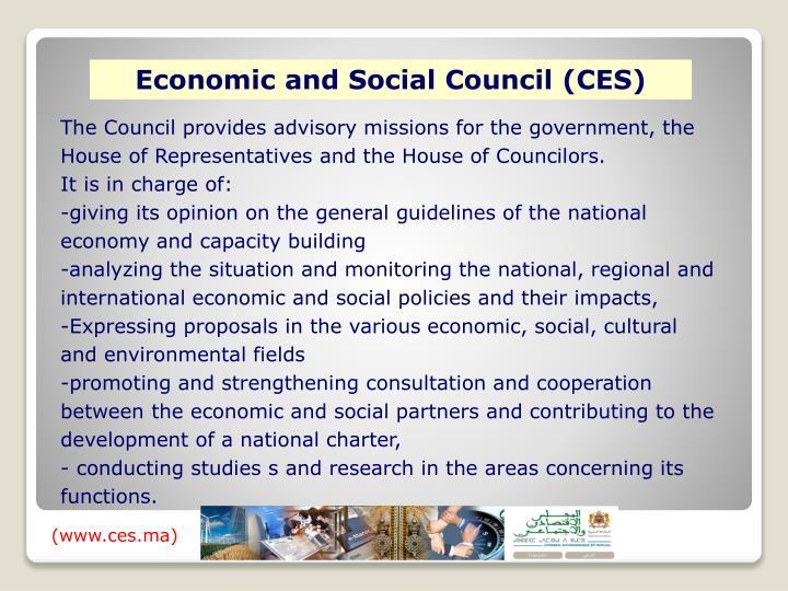 Economic and Social Council (CES)