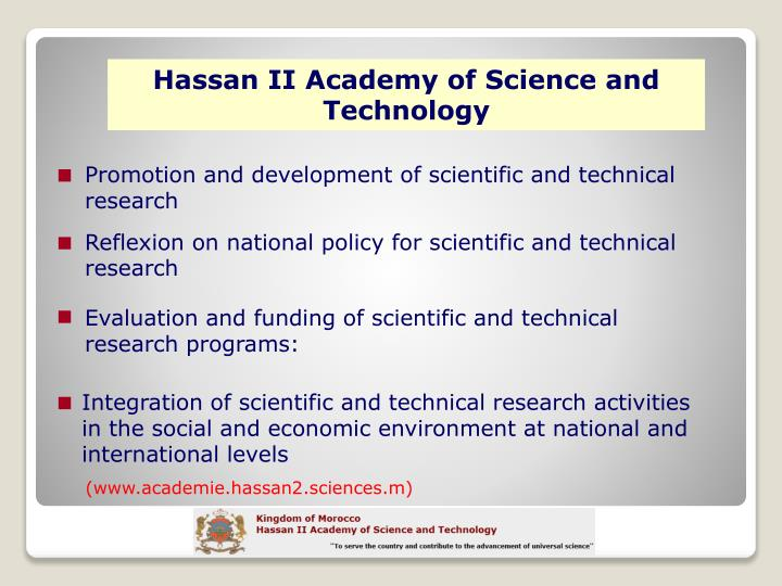 Hassan II Academy of Science and Technology