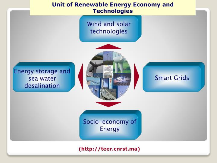 Unit of Renewable Energy Economy and Technologies