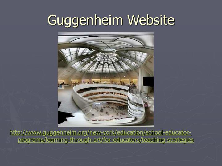 Guggenheim Website