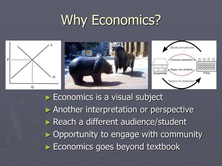 Why Economics?