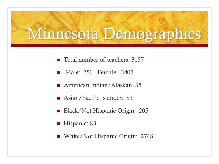 Minnesota demographics