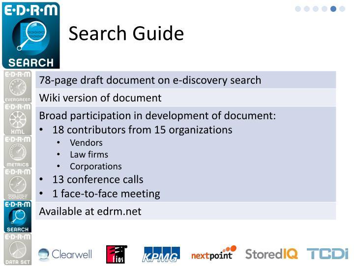 Search Guide