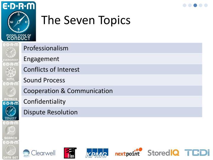 The Seven Topics
