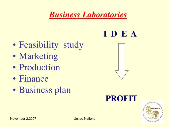 Business Laboratories