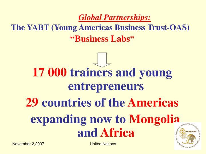 Global Partnerships: