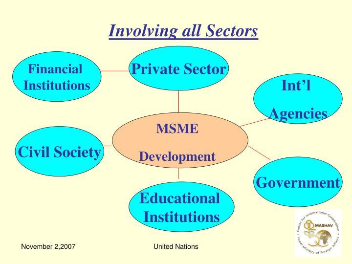 Involving all Sectors