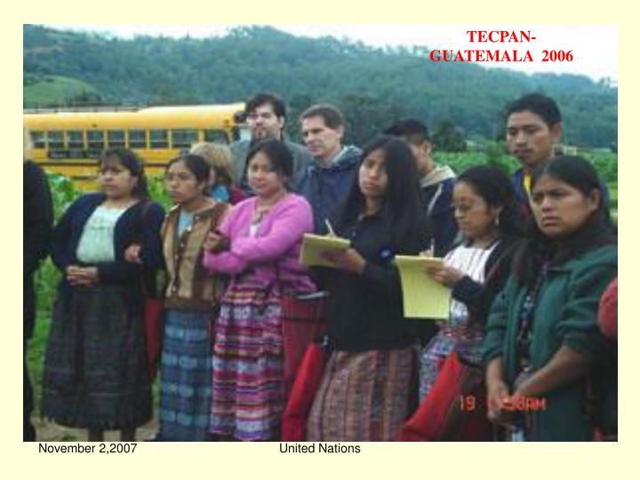 TECPAN-GUATEMALA  2006