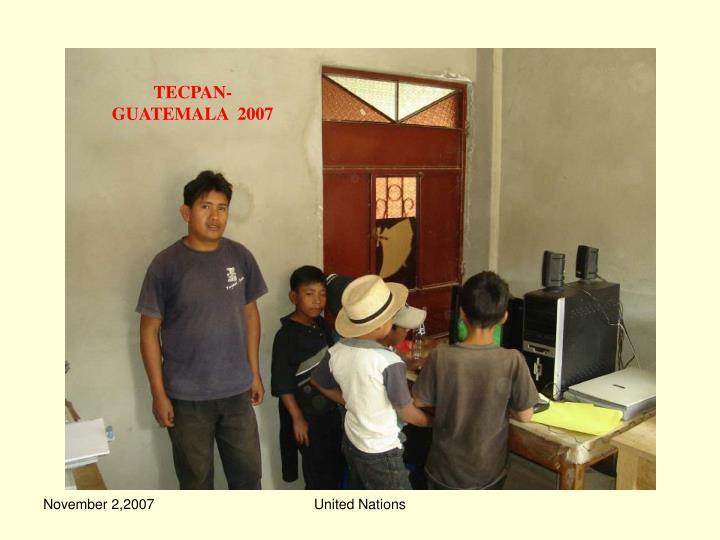 TECPAN-GUATEMALA  2007