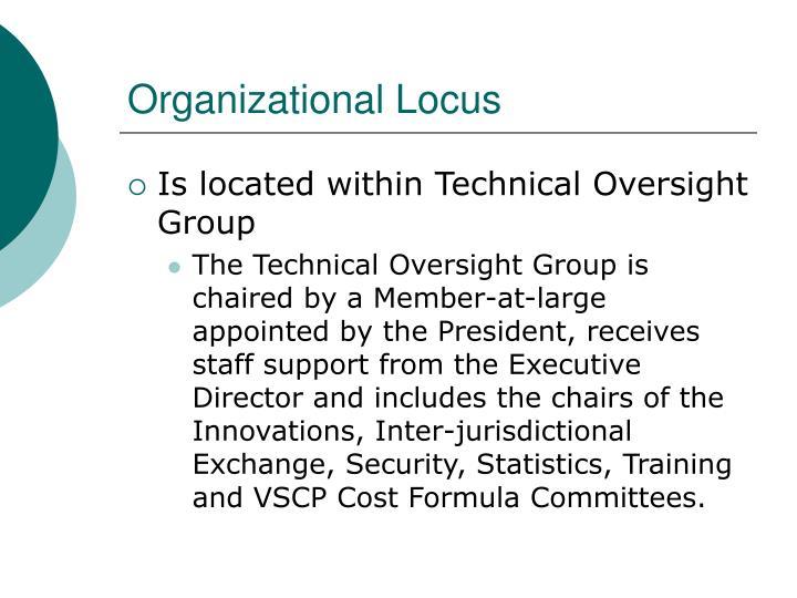 Organizational Locus