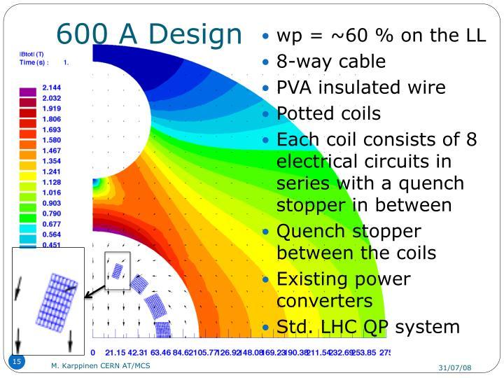 600 A Design