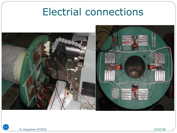 Electrial connections